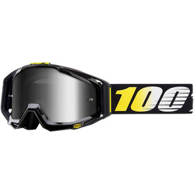 100% Racecraft Anti Fog Mirror ajolasit dh , musta